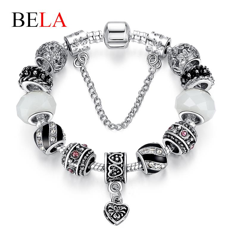 Free Shipping! Valentines Day Couples romantic Gifts murano glass bead charm beaded Fit Pandora Style Bracelets PS3021<br><br>Aliexpress