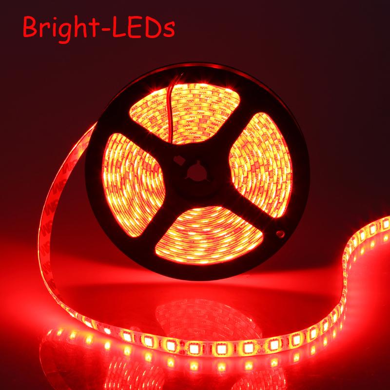 Waterproof LED Strip Car Light Strip SMD5050 LED 5M DC12V/24V Flexible Light saving light  Party Light<br><br>Aliexpress