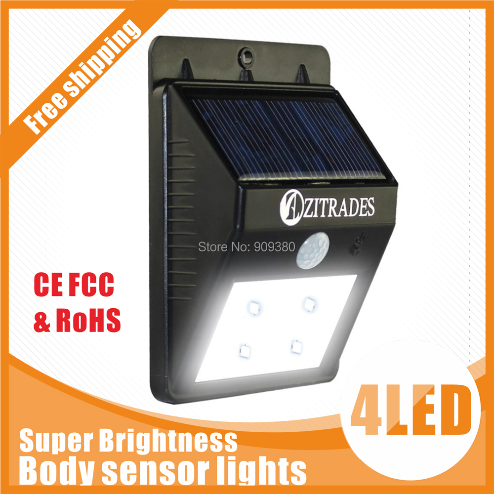 led solar light outdoor solar led lamp garden light outdoor lighting lights waterproof Motion Sensor luz solar Powered system(China (Mainland))