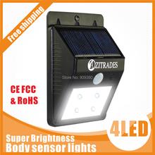 led solar light outdoor solar led lamp garden light outdoor lighting lights waterproof  Motion Sensor luz solar Powered  system