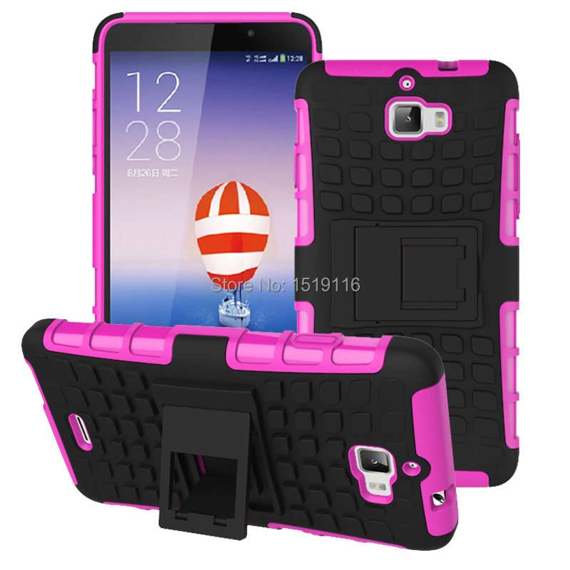 200pcs Cell Mobile Phone Cases For dazen f1 Stand Hybrid Protective Cover Case For Coolpad Dazen F1 8297d Kickstand Armor Shell(China (Mainland))