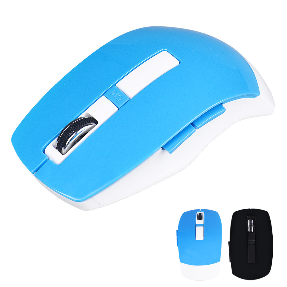 Ergonomic design with good thumb rest Mini 2.4GHz Wireless Cordless Optical Gaming Mouse For PC Laptop Malloom(China (Mainland))