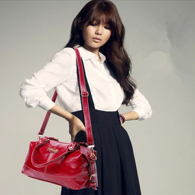 Fashion desigual Women shoulder bag Girl genuine PU leather bags Oil Wax Patent Leather Handbag Vintage designers Crossbody Tote(China (Mainland))