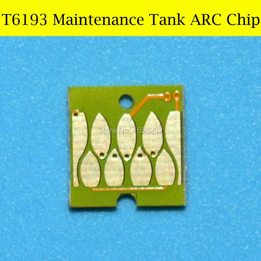 For EPSON T6193 Maintenance Tank ARC Chip 4