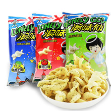 Food Authentic native waves taste 30g tomato vegetable flavor snacks for children fancy potato roll puffed