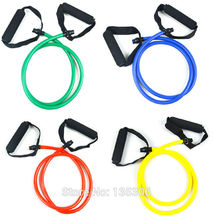 Fitness Resistance Bands Resistance Rope Exerciese Tubes Elastic Exercise Bands for Yoga Pilates Workout fast shipping