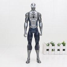 O Fim Do Jogo toy Figura Super Heroes Avengers Capitão América Wolverine Thor Spiderman Ironman Hulk Thanos Figura PVC Brinquedo 30 cm(China)