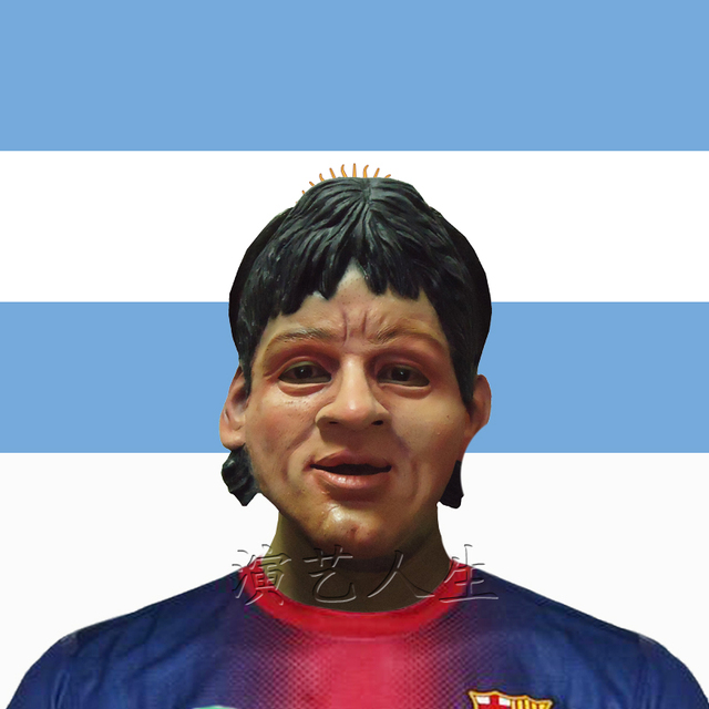 Messi latex mask