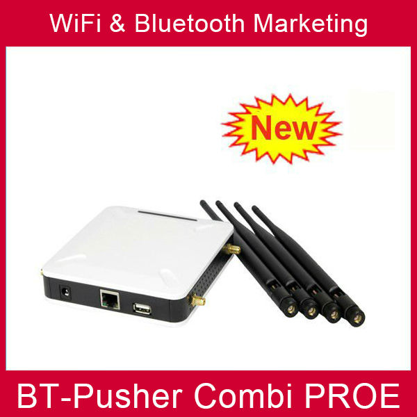 Bluetooth Proximity marketing equipment and WiFi advertising campaigns promotion device BT-Pusher COMBI PROE(China (Mainland))