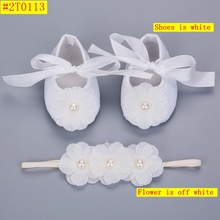 Soft Soled Girls baby Shoes Rhinestone Headband Set,Cute Toddler Boots,Sapato Bebe,Christening Baptism Shoes,Shower Gift,#2T0059(China (Mainland))