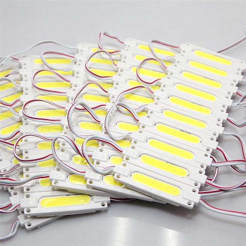 500pcs/lot Injection LED Module lens COB 12V 1W 2W 160 Angle Warm White/Cool White Waterproof LED COB Module Free Shipping(China (Mainland))