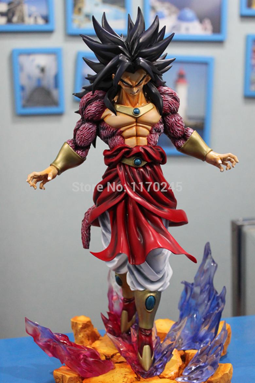 Figurine dragon ball z super sayen 4 - Sayen legendaire ...