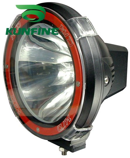 12V/35W 7 INCH HID Driving Light HID Offroad Spot/Flood Beam Light for SUV Jeep Truck ATV HID XENON Fog Lights HID work light(China (Mainland))