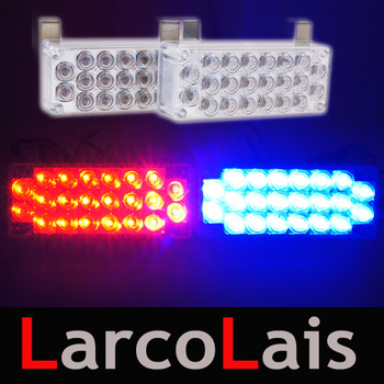 LED Strobe Warning Lights Emergency Vehicle Flash EMS Police Car Truck Firemen 2*22 2x22 12V White Red Blue Amber Yellow Green