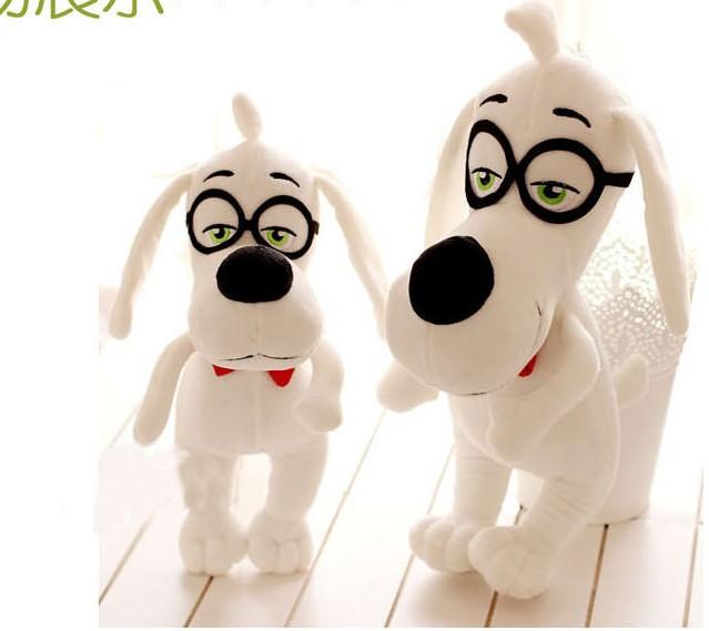 Cute toy for boys&girls Children's birthday gift doll toy dog Mr. Peabody & Sherman(China (Mainland))