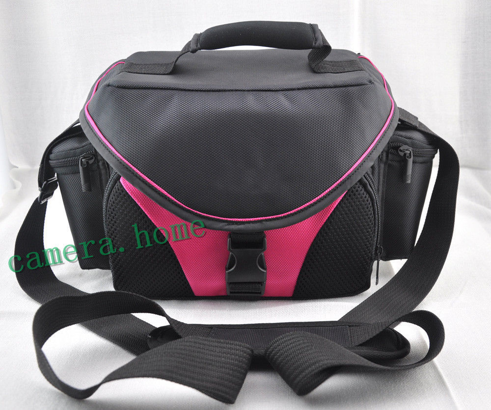 new pink style Photo camera bag case for Canon eos Nikon D Samsung Fujifilm sony Camcorder(China (Mainland))