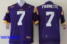 Louisiana State University LSU Tigers,Leonard Fournette,Odell Beckham Jr. for youth,for kids(China (Mainland))