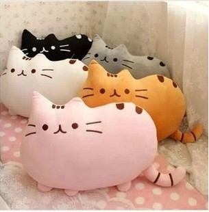 2015 Novelty Soft 40*30cm Plush Toys Stuffed Animal Doll Talking Animal Toy Cat For Girl Kid Kawaii Cute Cushion Free Shipping(China (Mainland))