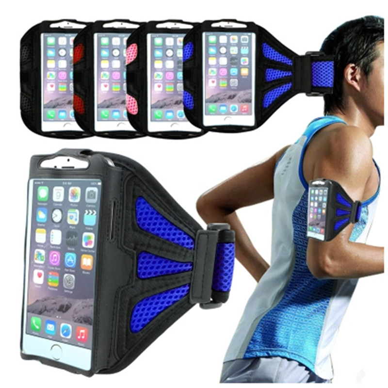 Promotion Sales Mesh Breathing Running Arm Band Case For iphone 5/5S/6/6S/6Plus/6s Plus Sport GYM Phone Bags Accessories Hot(China (Mainland))