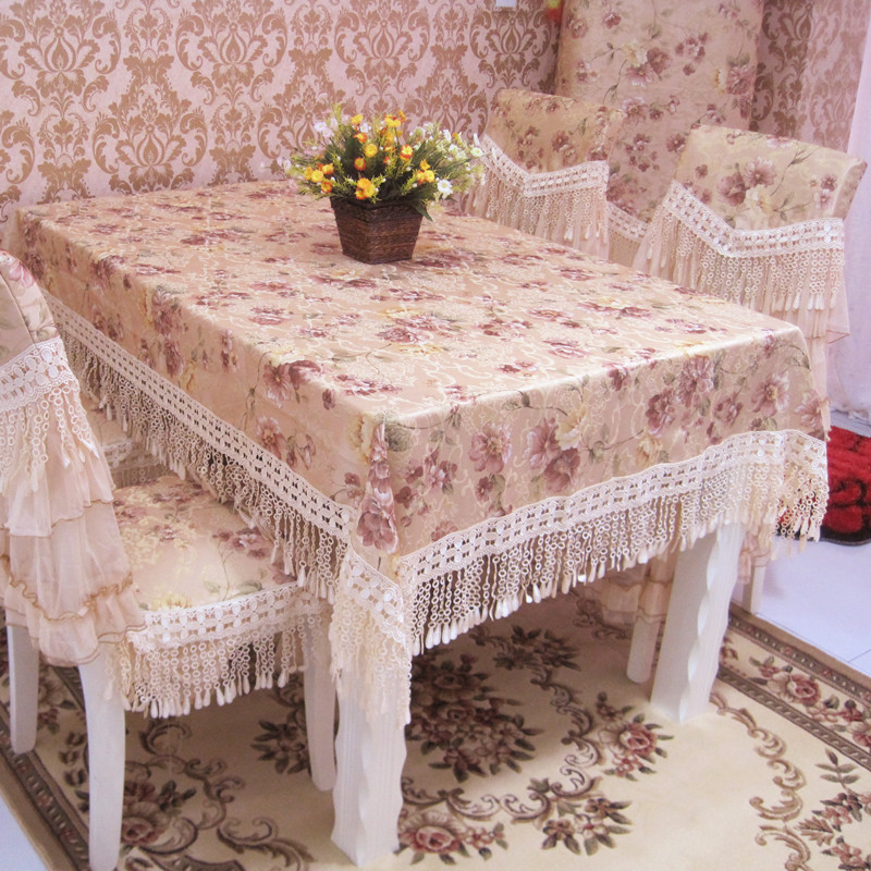 free shipping Quality hydrotropic laciness table cloth western fashion rectangle ace gremial Table mat water proof,oil proof(China (Mainland))