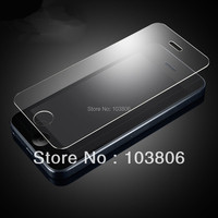Retail Package 0.4mm High Quality Premium Tempered Glass Film Screen Protector for iPhone 5 5G 5S 5C