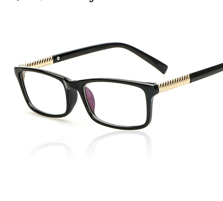 Glasses Frames No Lenses : 2015 Joker Vintage Eyeglasses Fashion Frames Classic Chain ...