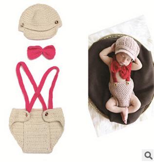 Handmade Baseball Cap Strap Short props for photographs Newborn Hat Babies Sale Costume Knitted Infant Beanie Crochet hats(China (Mainland))
