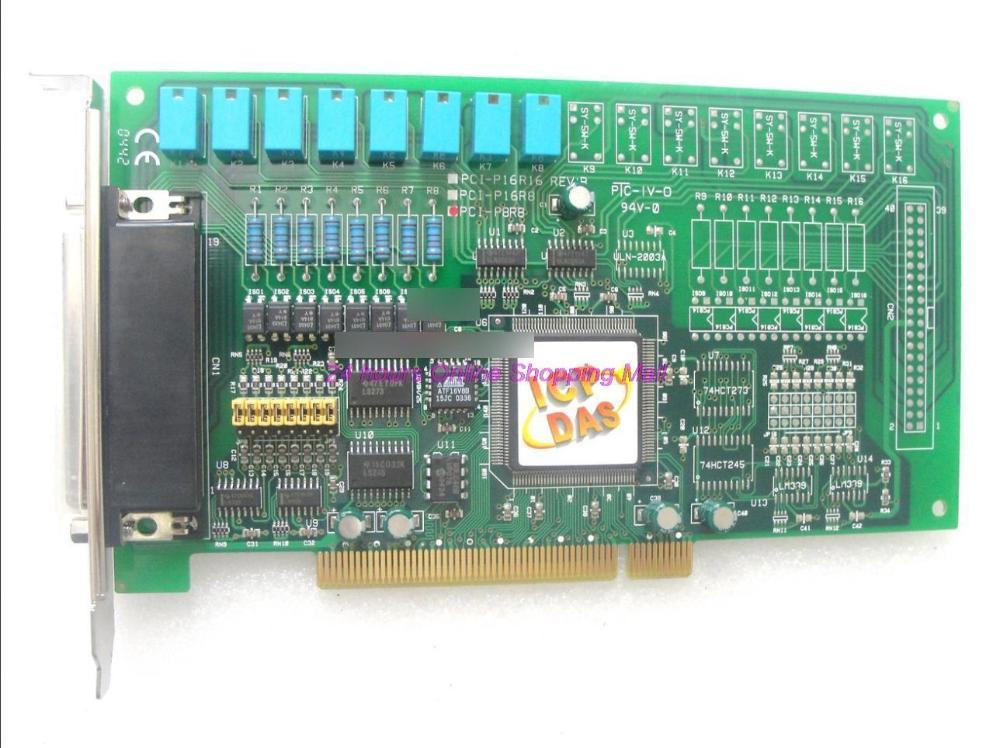 Board pci pci-p8r8 8 relay 8 light digital card(China (Mainland))