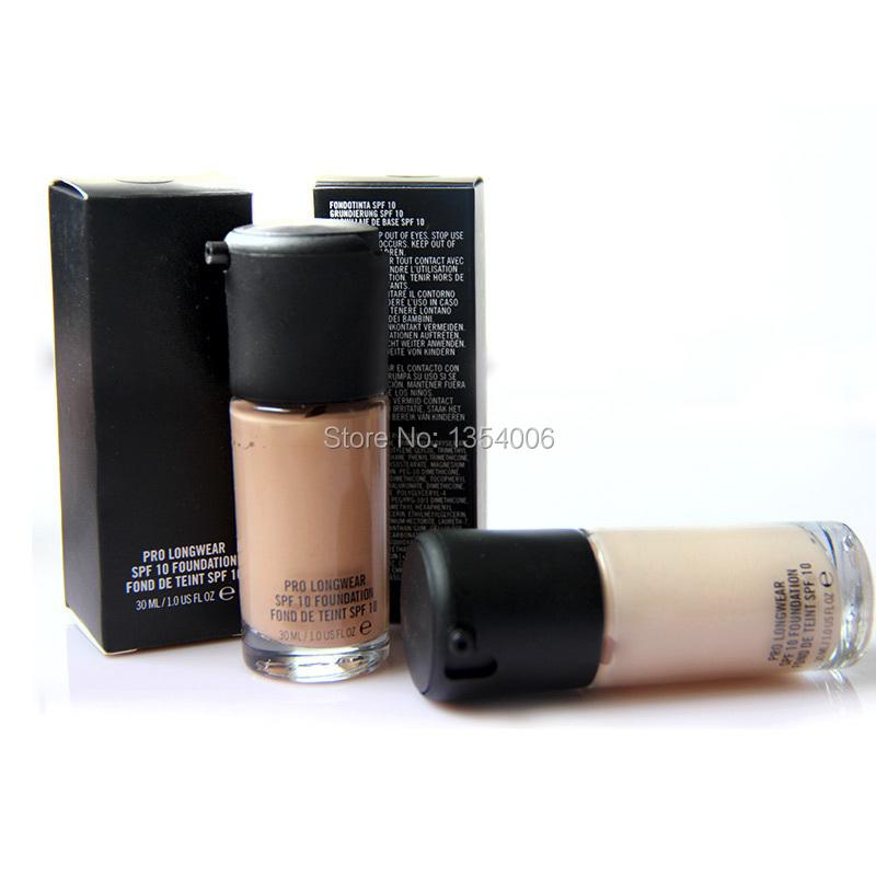 Best Quality makeup liquid foundation studio fix fluid spf 10 waterproof PRO LONGWEAR CONCEALER 30ML MC MAKE UP Base maquiagem(China (Mainland))