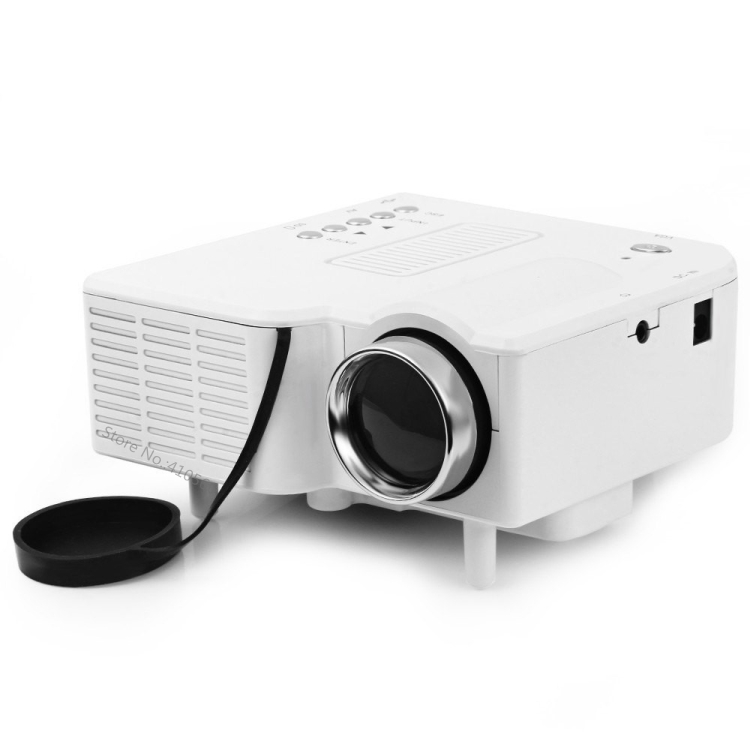 2016 portable mini pico projector led android 4 4 wifi for Portable movie projector