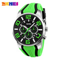 SKMEI 9128 Men Quartz Wristwatches Fashion Sport Stop Watch Auto Date 30M Waterproof Clocks Relogio Masculino