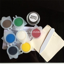 Car Seat Sofas Coats Holes Cracks Rips No Heat Liquid Leather & Vinyl Repair Kit(China (Mainland))