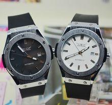 Jargar comercial hombres mens relojes mecánicos totalmente automáticos ver j299 reloj de regalo