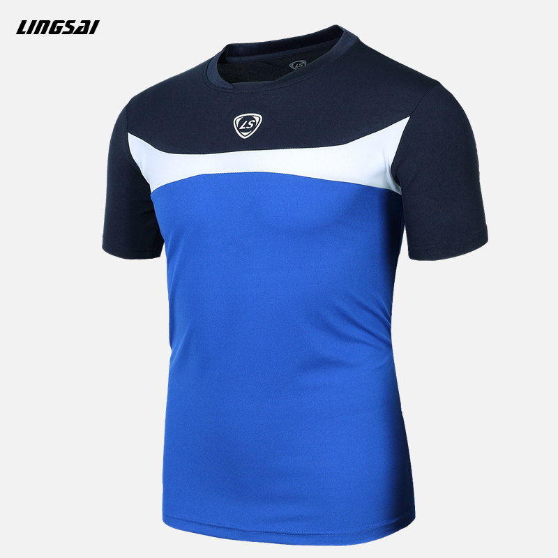 LUCKY SAILING 2016 brand Hot sale Men Compression Layer Short Sleeve Under Tops Tees Sports T shirt Fitness mma T-shirt clothing(China (Mainland))