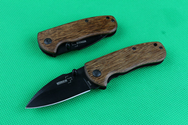 Tactical knives Boker Da66 folding knife pocket Camping tool Survival knives wood handle Drop Shipping