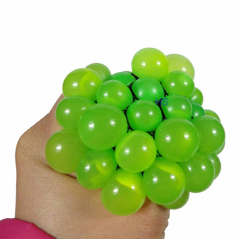 Anti Stress Reliever Ball Mood Squeeze Relief Toy Hand Wrist Exercise Toy(China (Mainland))