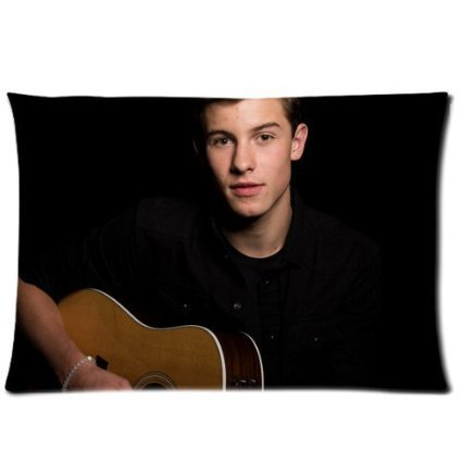 """Forever Shawn Mendes Playing Guitar Pillow Cases """"20x30"""" (Twin sides) Pillowslip(China (Mainland))"""