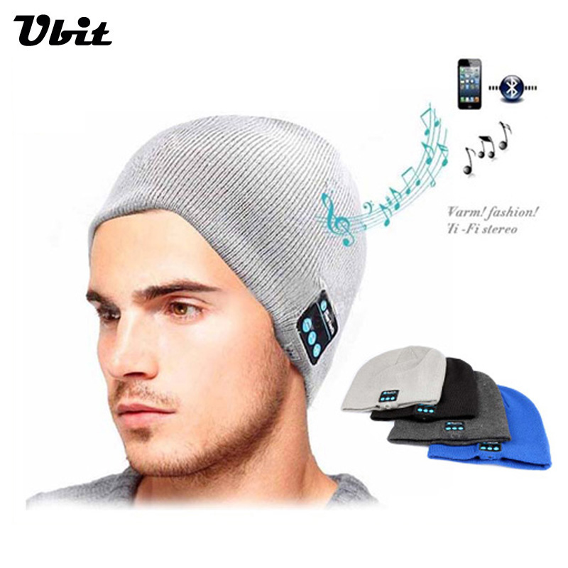 Ubit Bluetooth Earphone Hat for iPhone Samsung Android Phones Men Women Winter Outdoor Sport Bluetooth Stereo Music Hat Wireless(China (Mainland))