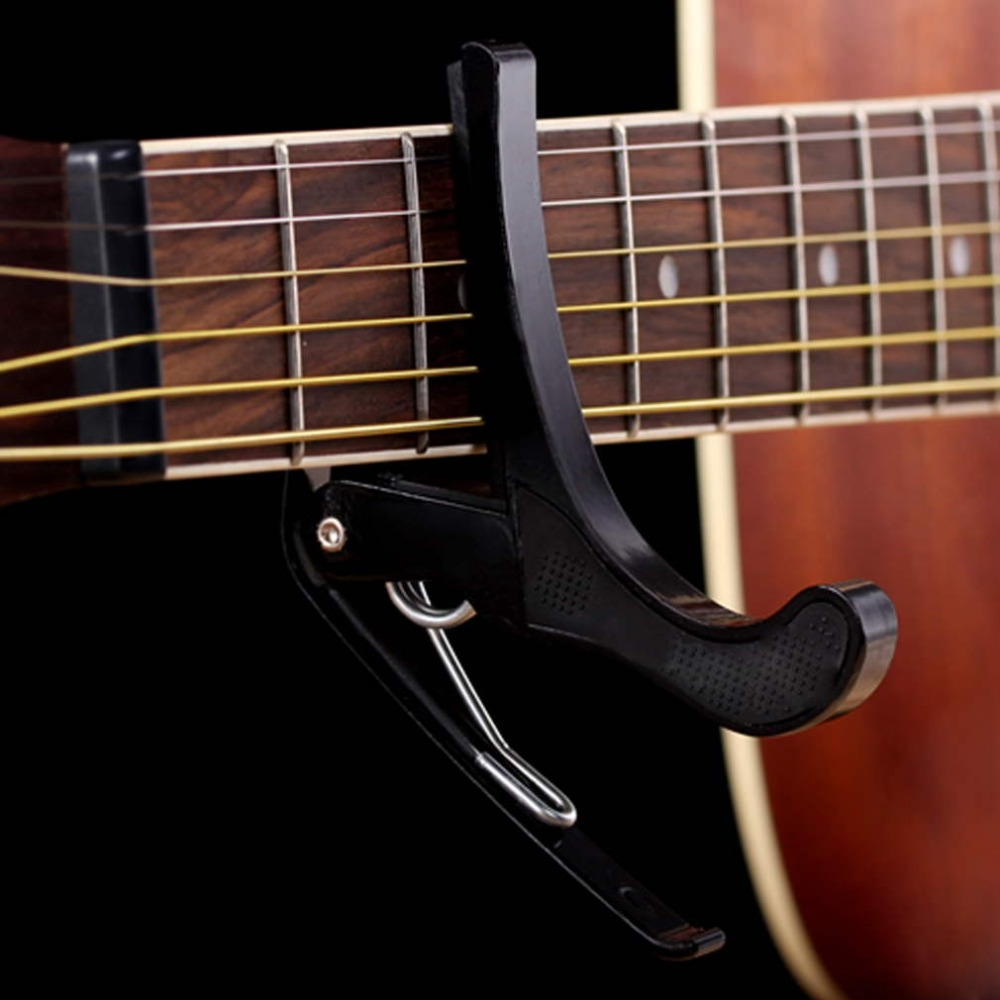 Puscard Folk Acoustic Electric Tune Quick Change Trigger Guitar Capo Key Clamp New&amp;Wholesales<br><br>Aliexpress
