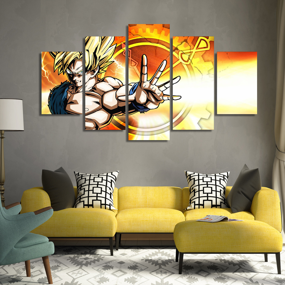 HD Printed dragon ball z Painting Canvas Print room decor print poster  picture canvas Free shipping. Compare Prices on Dragon Ball Room  Online Shopping Buy Low Price