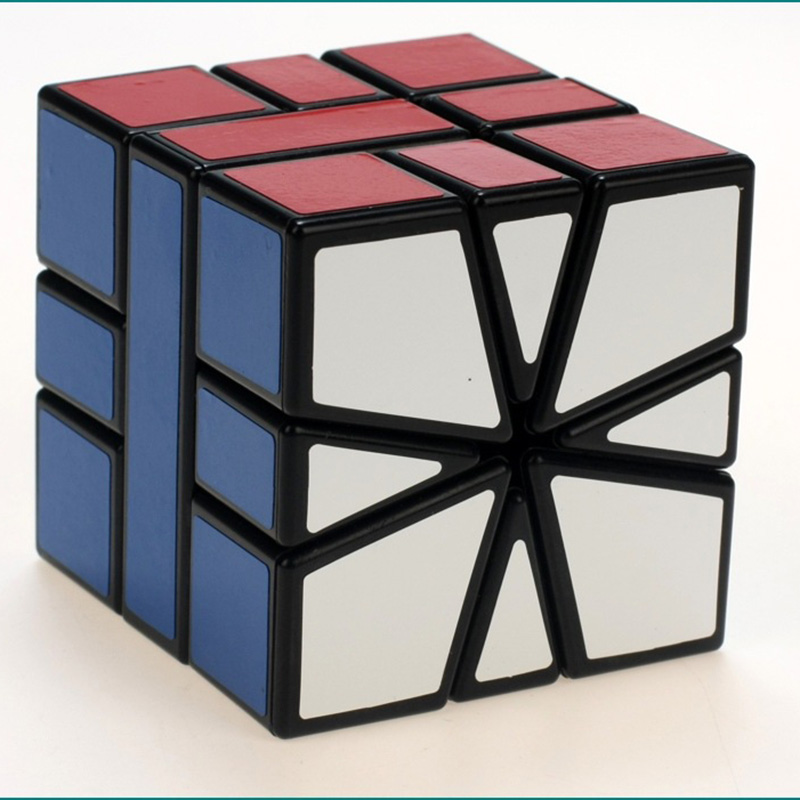 New Shengshou SQ1 Square-1 3x3x3 Magic Cube Puzzles Game Speed Twist Cubes Toys For Children(China (Mainland))