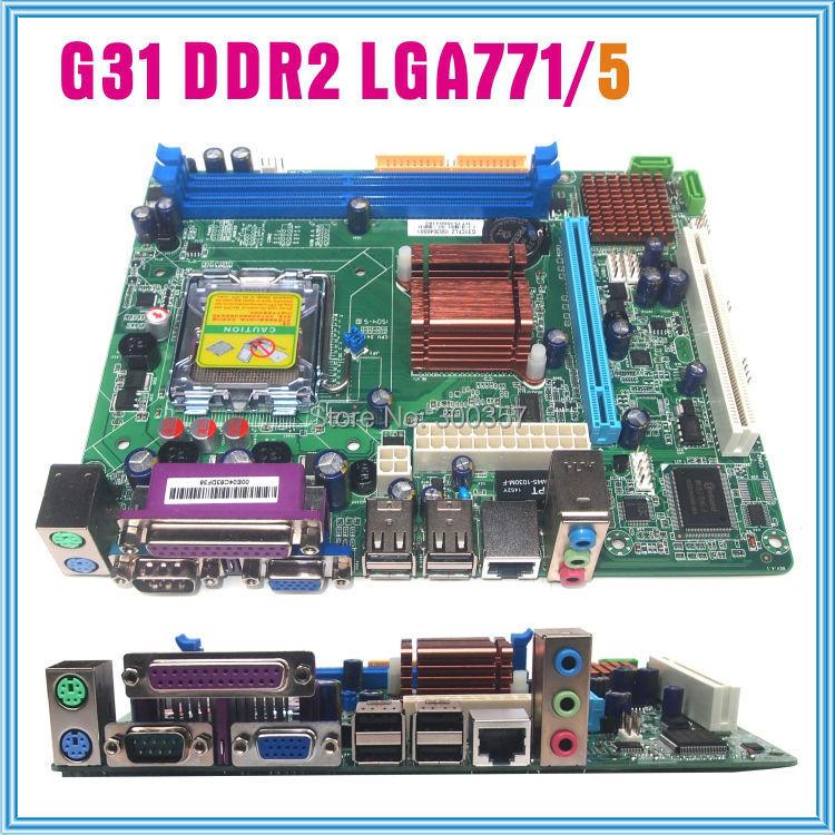 NEW Micro-ATX G31 LGA 775 DDR2 Motherboard(China (Mainland))