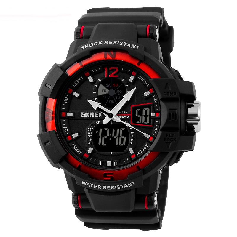 Men's Digital Analog Military Army Watch Shock Swim Date LED Watches Sport Outdoor Wristwatch relogio masculino(China (Mainland))