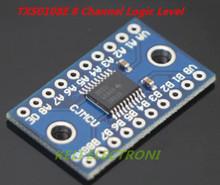 Free shipping 1pcs  3.3V 5V TXS0108E 8 Channel Logic Level Converter Convert TTL Bi-directional Mutual Convert(China (Mainland))