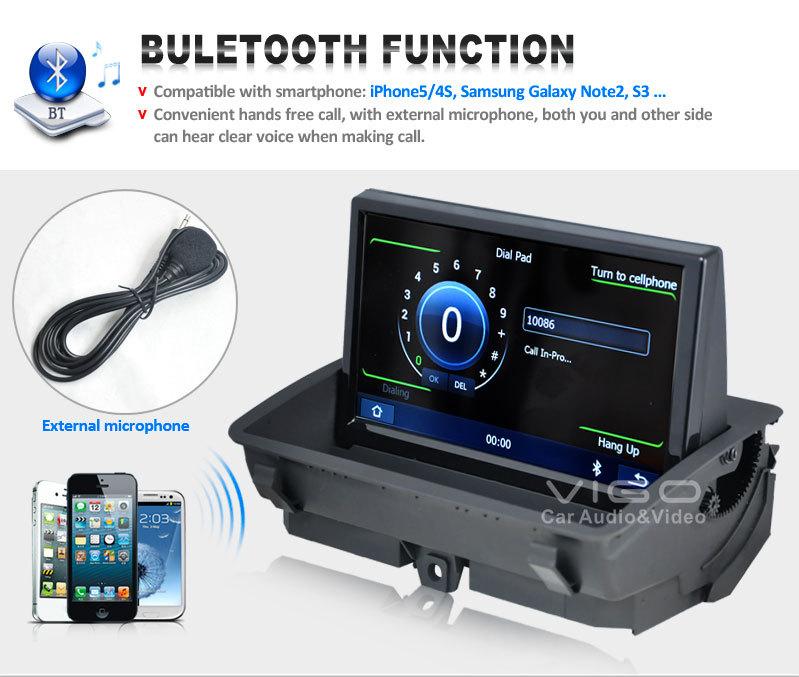 8 Car Stereo for Audi Q3 2011 2015 Multimedia DVD Player GPS navigation Sat Nav Autoradio