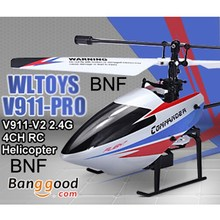 Hot sale good quality WLtoys V911-pro V911-V2 2.4G 4CH RC remote control Helicopter BNF(China (Mainland))