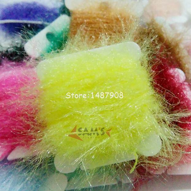 5Meters * 20Cards Pick From 20 Colors SCUD Dry Fly Tying Dubbing Dispenser Specified Color Dub L470<br><br>Aliexpress