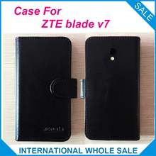 Hot! 2016 ZTE Blade V7 Case, 6 Colors Leather Exclusive Cover tracking - lin-go's store