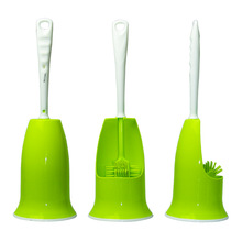 Buy Big sale Plastic High NT material toilet brush holders bathroom Funny Base Household Cleaning Tool Free for $12.11 in AliExpress store