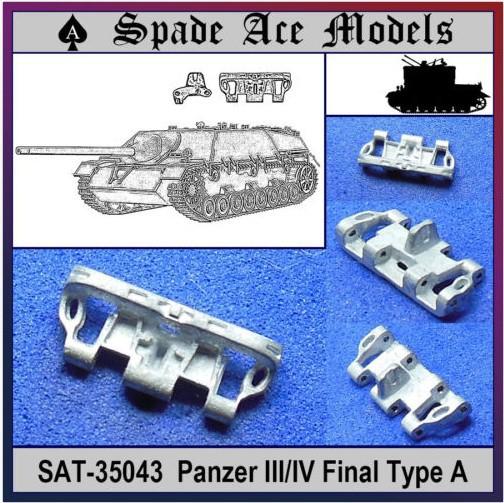 Spade Ace 1/35 35043 Metal Track Panzer III/IV Final(China (Mainland))